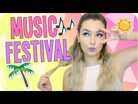 Music Festival Essentials, Makeup & Hair!