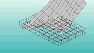 非圧縮性超弾性体のリアルタイム有限要素法解析
