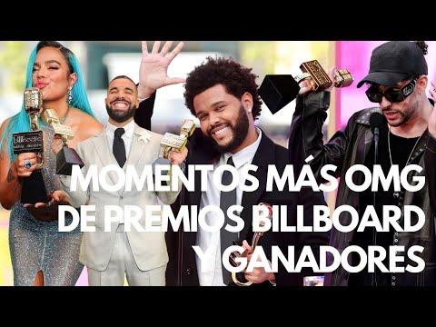 Momentos Más OMG de Premios Billboard 2021 y Ganadores