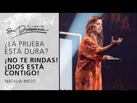 ¿La prueba está dura? ¡No te rindas! 💪 ¡Dios está contigo! - Natalia Nieto | Prédicas Cortas #181