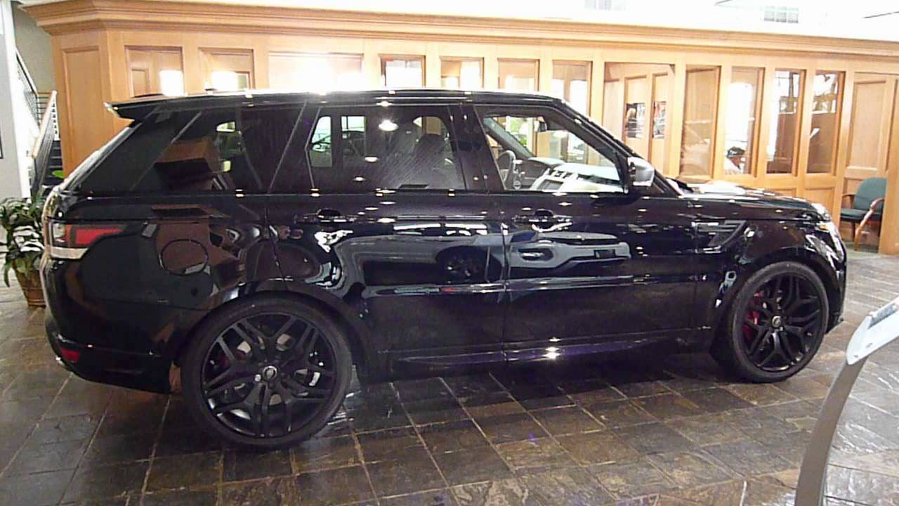 2015 Range Rover Sport  Mariana Black  Autobiography  Stealth