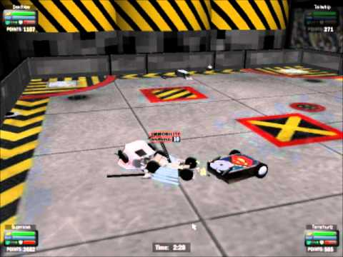 Robot Wars Series 8 - Heat A (Robot Arena 2 game) - YouTube