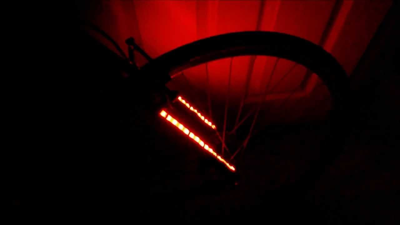 Diy bicycle led strip lights cree battery pack test swiatla led diy bicycle led strip lights cree battery pack test swiatla led rower zrob to sam aloadofball Image collections