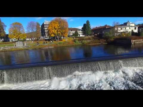 Høstdag i Kongsberg 2015, Drone filmet