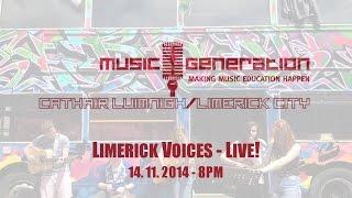 Music Generation - Limerick Voices Live