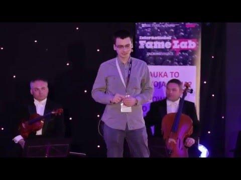 Famelab 2013 Piotr Konieczny - prezentacja finałowa