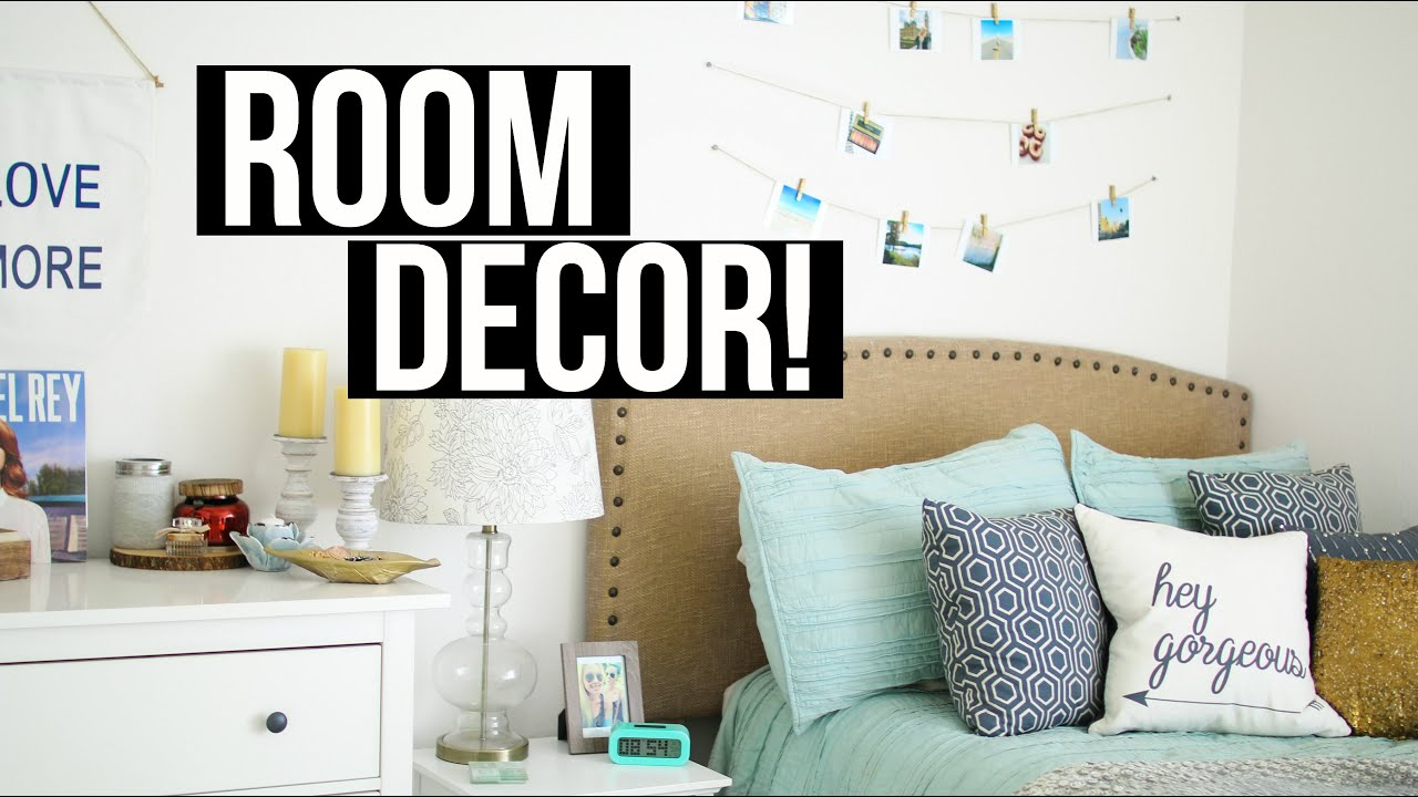 How to cozy up your room diy room decor ashley nichole for Diy room decorations youtube