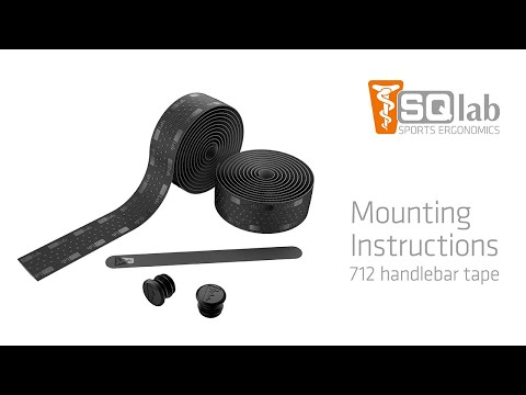 SQlab Handlebar Tape 712 Mounting Instructions - English