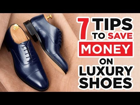 7 Tricks To Save $100 (Or More!) When Buying Luxury Shoes | Money Saving Tips