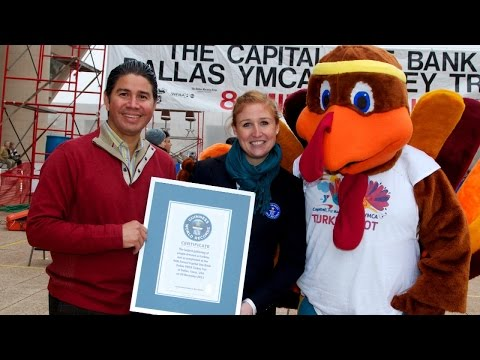 Largest Pumpkin Pie To Fastest Turkey Carver: Thanksgiving World Record Breakers