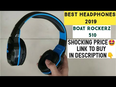Best headphones 2019 | boat rockerz 510 unboxing review | boat rockerz 400 vs 510 |best bt headphone