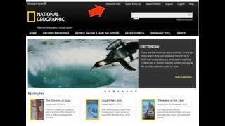 Using National Geographic Virtual Library - Basics