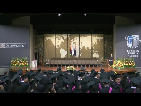 Charles Telfair Institute / Curtin University Graduation Ceremony 2017