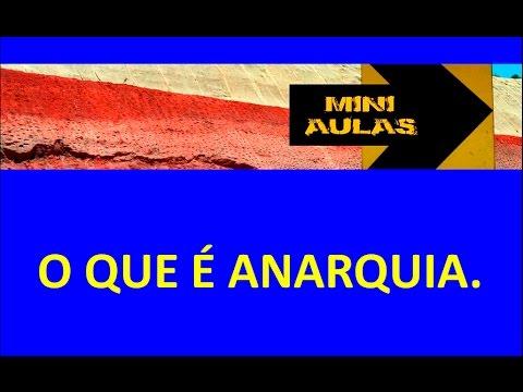 O que é Anarquia.