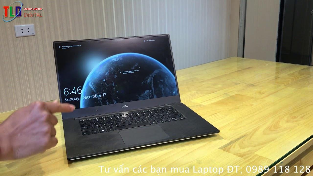 Laptop Dell XPS 9550 Đẹp Mỏng Nhưng Vẫn Mạnh Mẽ Games Và Đồ Hoạ Tốt