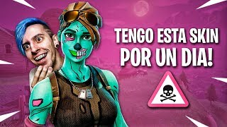 USANDO MI SKIN FAVORITA POR 1 DÍA !! - Fortnite: Battle Royale