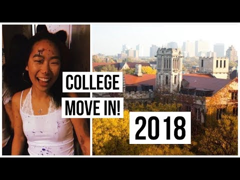 College Move In Vlog 2018! || University of Chicago