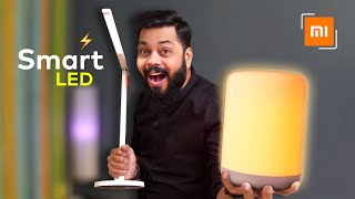 All New Xiaomi Mi Smart LED Desk Lamp 1S & Smart Bedside Lamp 2 Unboxing & First Impressions ⚡⚡⚡