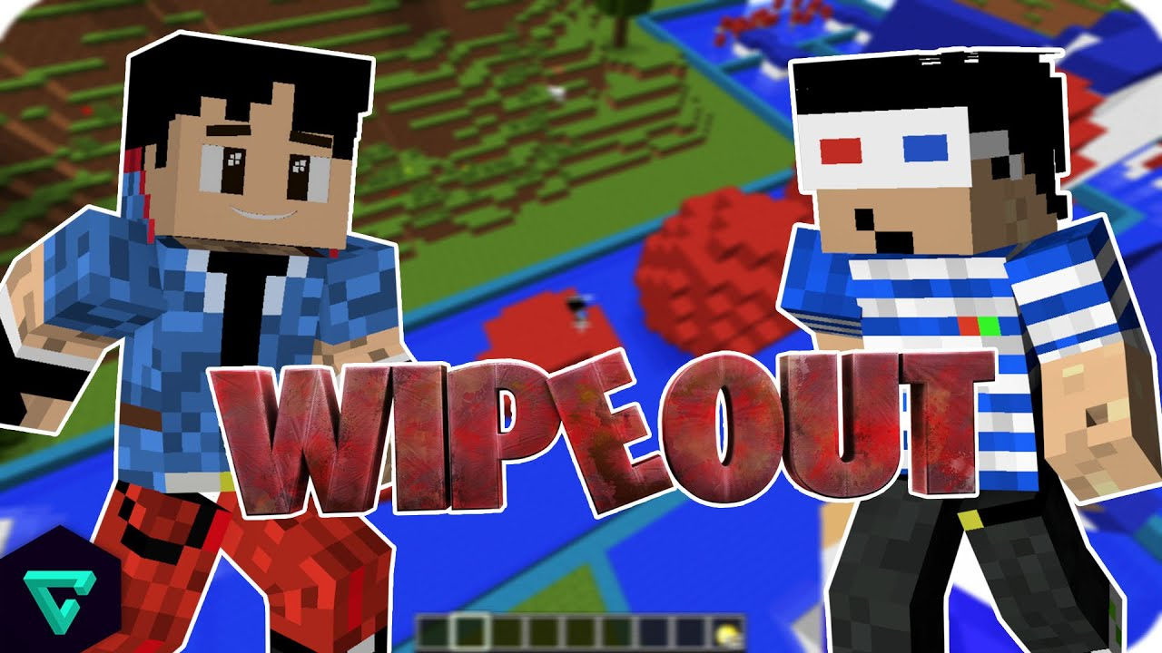 Circuito Wipeout : SÚper circuito wipeout vs minecraft youtube