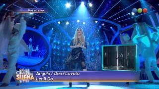 Angela es Demi Lovato - Tu Cara me Suena 2014