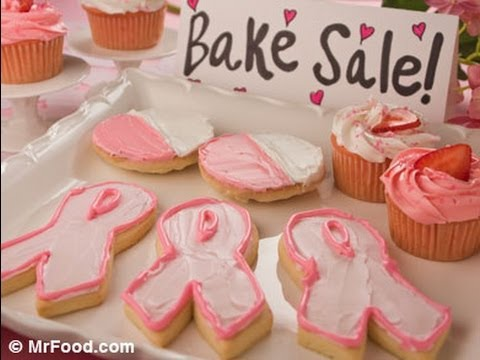 How to Make Pink Ribbon Cookies