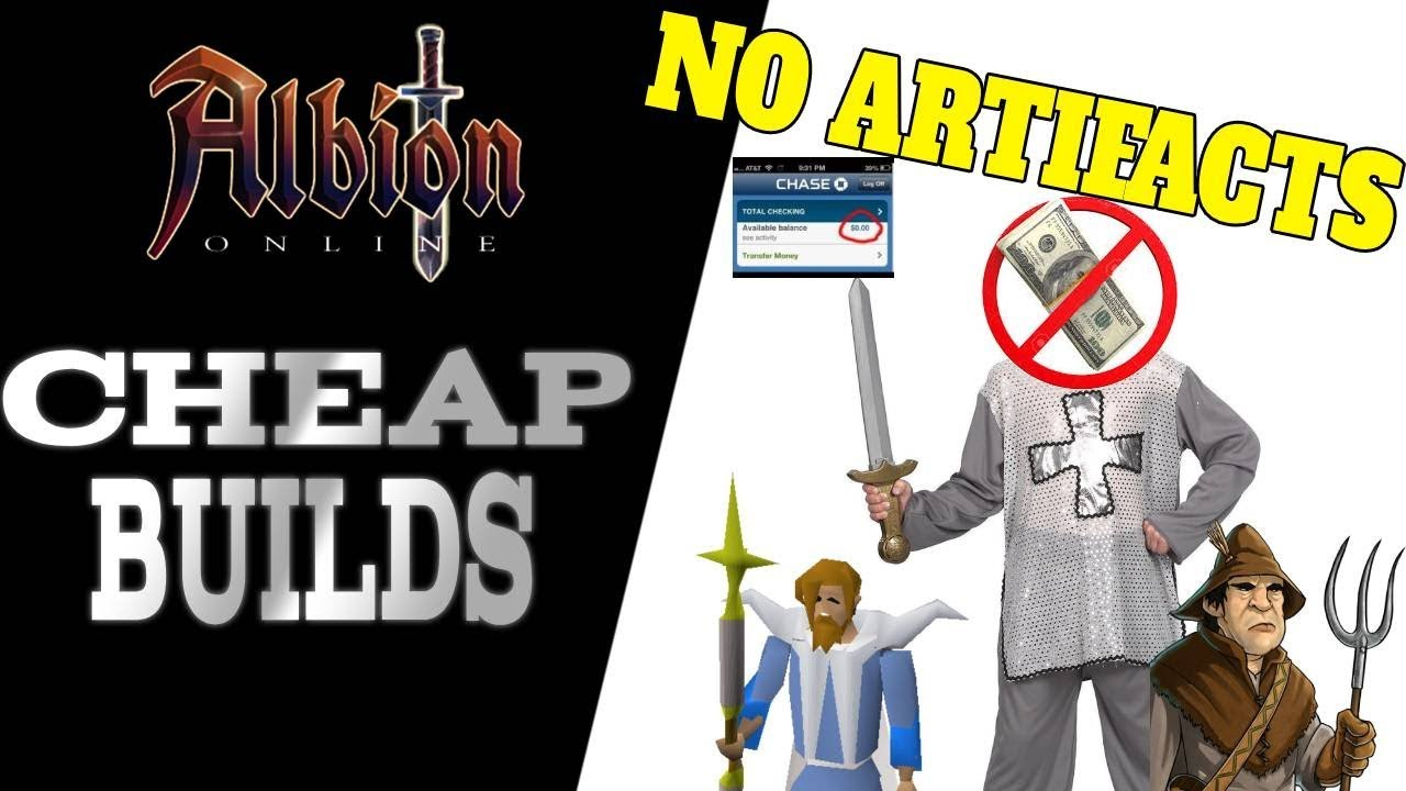 Albion Online   6 Super Cheap yet Effective Builds for Starting Characters!