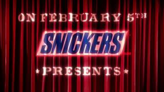 super bowl ad snickers live commercial