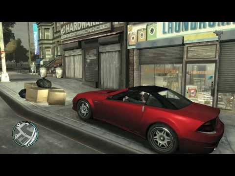 GTA IV Robbing A Laundromat And Internet Cafe