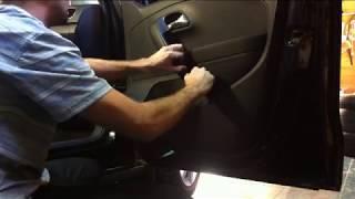 Как разобрать переднюю дверь Volkswagen Polo. Как снять стекло на Volkswagen Polo