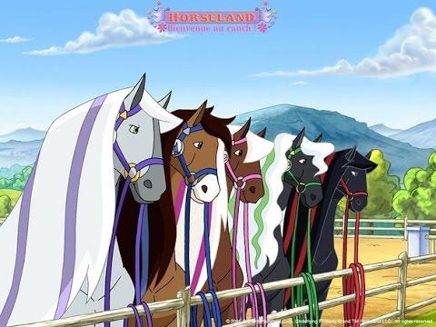 Мультфильм про лошади