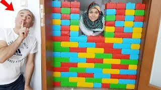Ayşe's Shock Surprise, & They are playing with colorful toy bricks