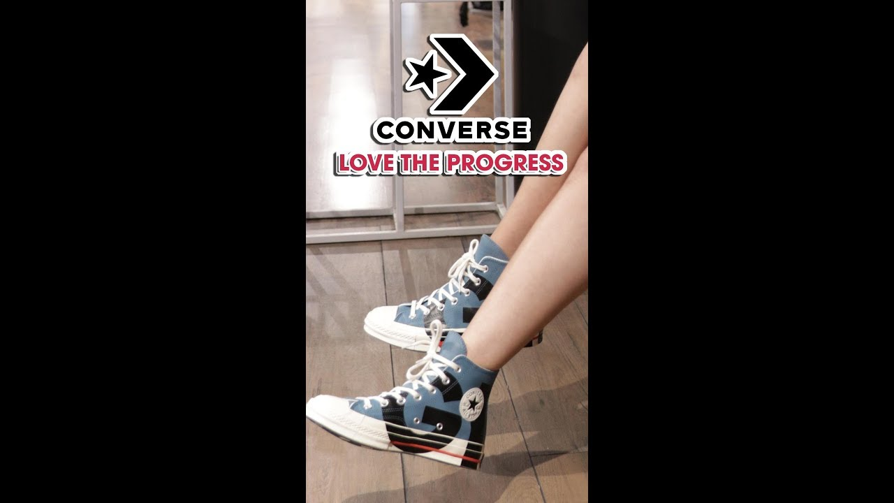 Converse Chuck 70 Love The Progress - OOTD part 2 | SPORTS STYLE