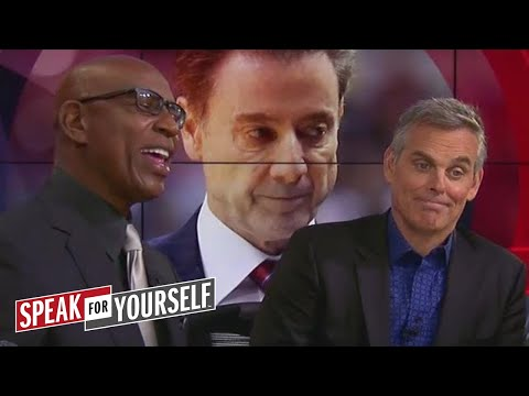 Eric Dickerson reacts to Pitino