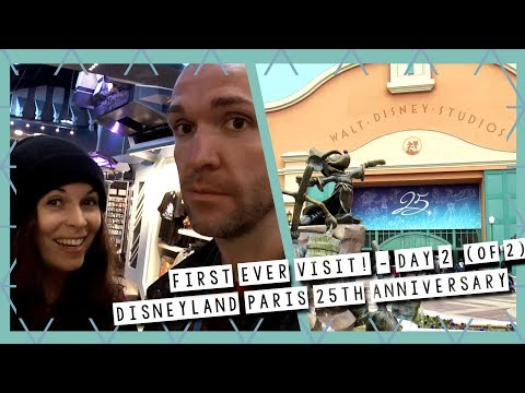 Visiting Disneyland Paris For The First Time! - Day 2 (Of 2) | DLP 25th Anniversary Vlog Oct 2017