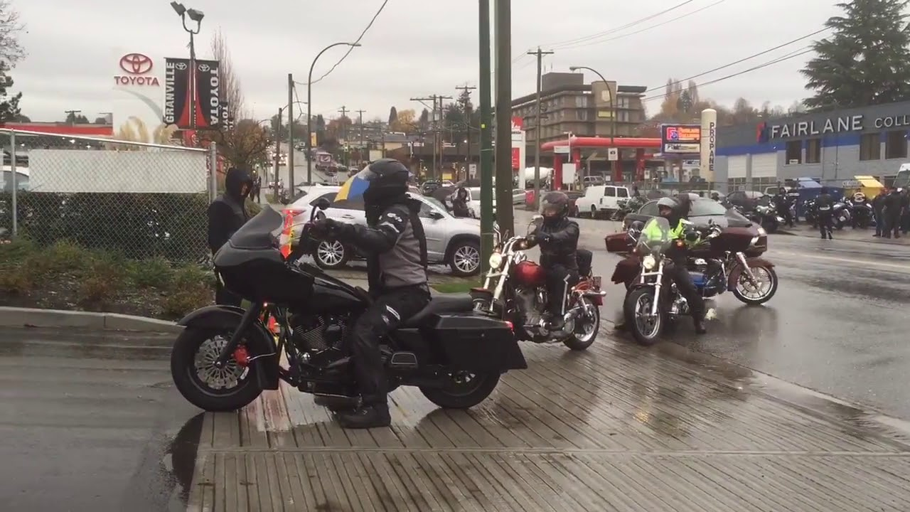 Hells Angels funeral for Bob Green Support 81