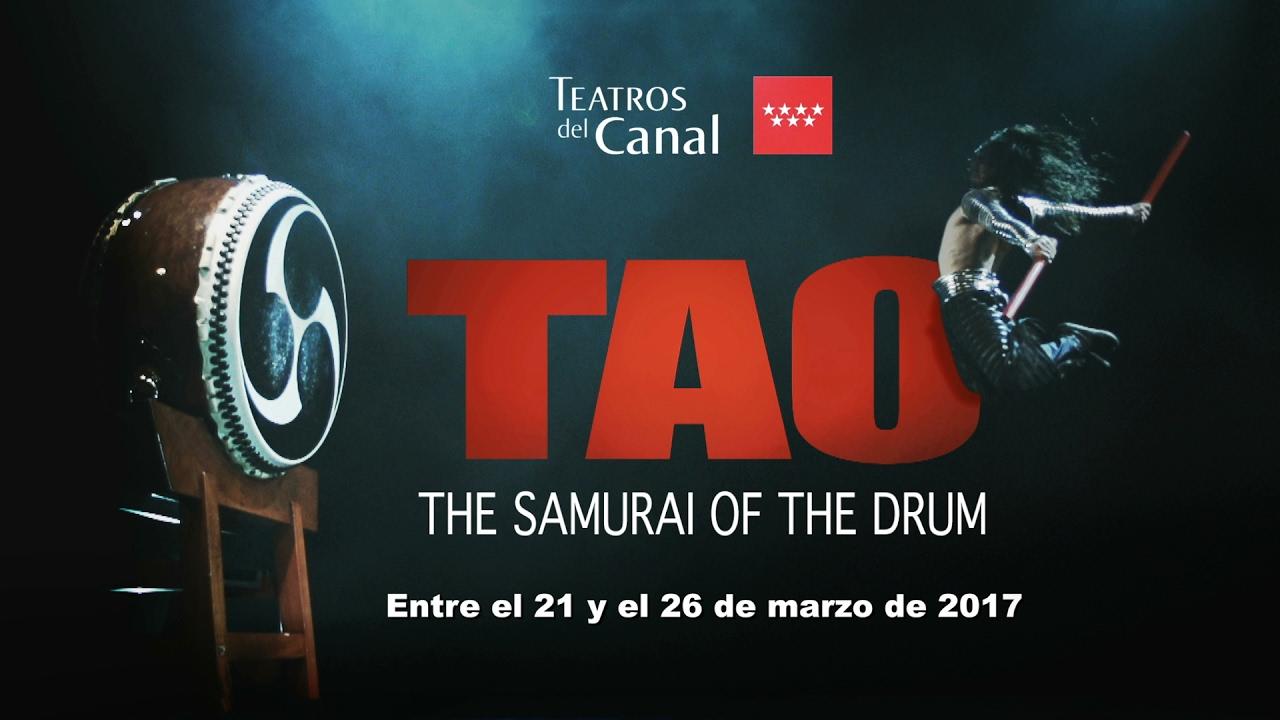 Tao the samurai of the drum en los teatros del canal Teatros del canal entradas