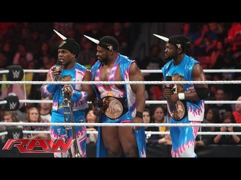 The New Day Brauchen Keine Leitern: Raw – 7. Dezember 2015