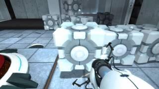 Portal прохождение от Титан часть 1 (разрезано)