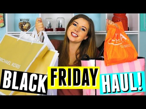 HUGE BLACK FRIDAY HAUL 2016 + GIVEAWAY!! Clothing, Beauty, Handbags & Christmas Gifts!