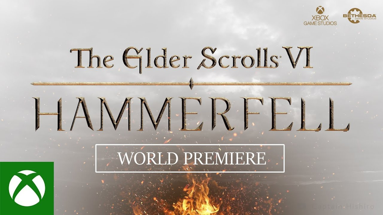 The Elder Scrolls Vi Hammerfell Reveal Trailer Xbox Series X S Concept By Captain Hishiro Youtube