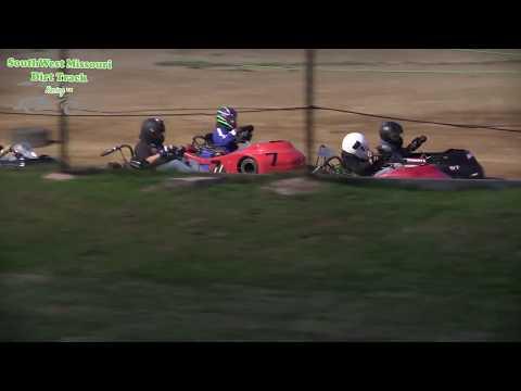 Dallas County Raceway Go Kart Racing Jr  2 A Main August 1, 2017