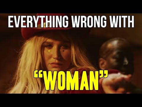 "Everything Wrong With Kesha - ""Woman"""