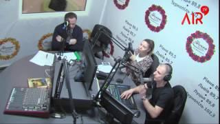 А. Дейнека в ефірі на радіо FM Галичина