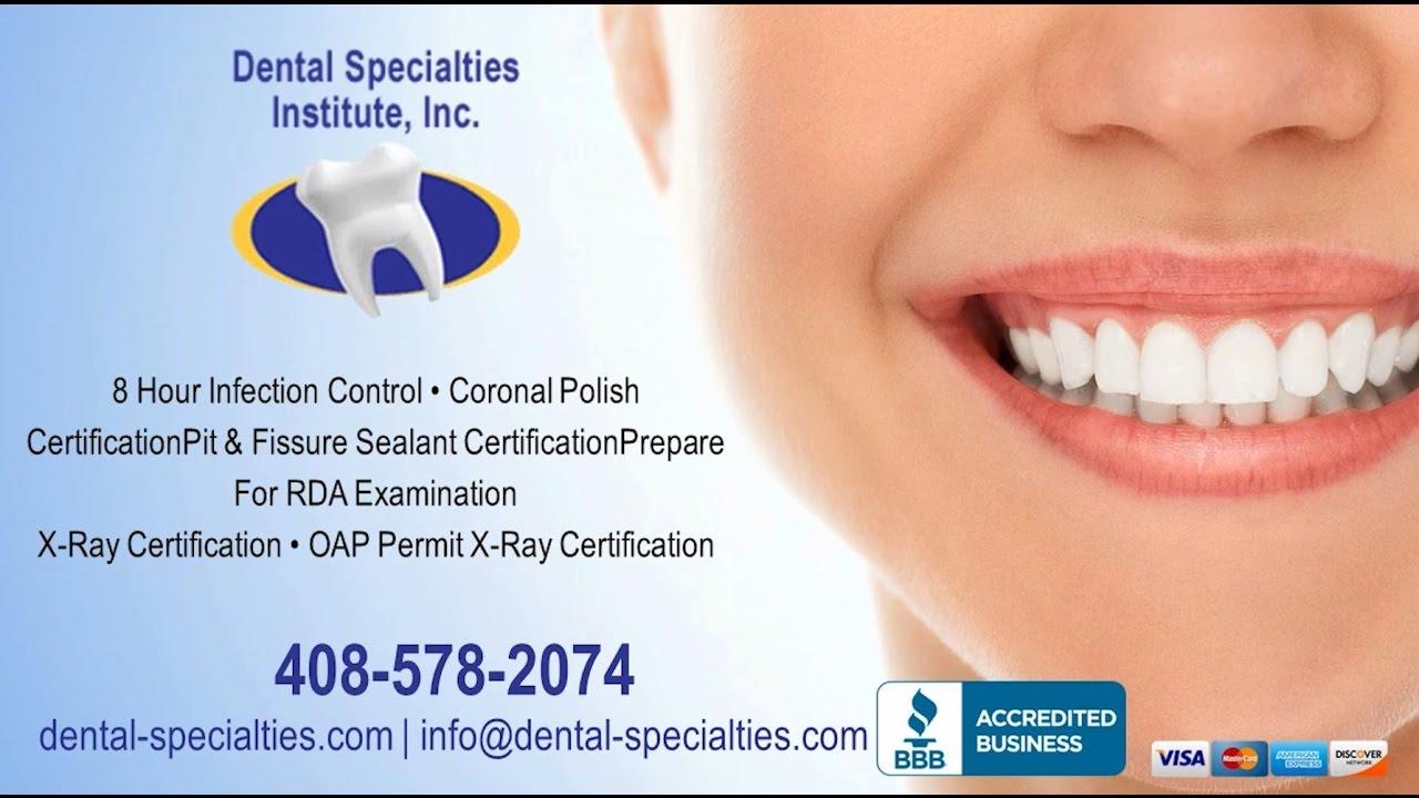 Dental Specialties Institute Inc San Jose Ca Adult And