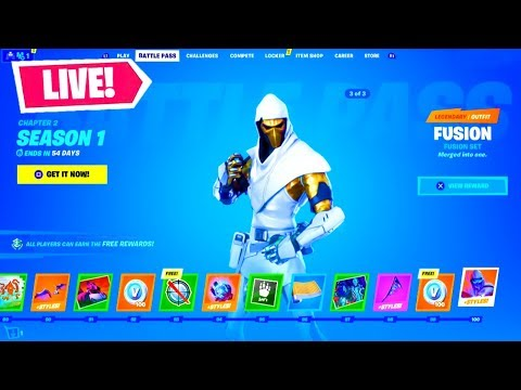 *NEW* FORTNITE SEASON 11 OUT NOW! MAX BATTLE PASS, LIVE EVENT, & MORE! (Fortnite Battle Royale)