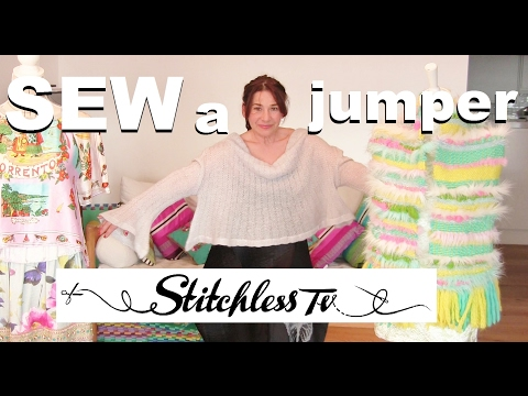 How to sew a jumper _  inspired by Alexander Mc Queen