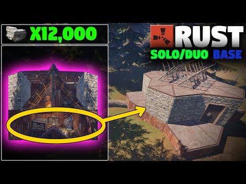 STRONG SUPER CHEAP Expandable Solo Base Design | (Layout) Rust Base Building
