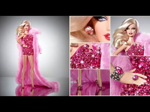10 bonecas Barbie mais  caras do mundo #VEDA17