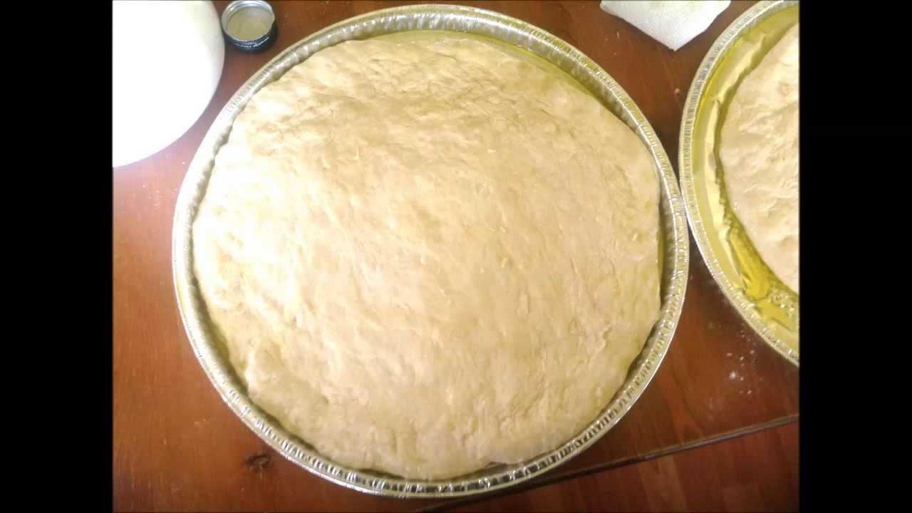 No Knead Pizza Dough Recipe - With Semolina and All