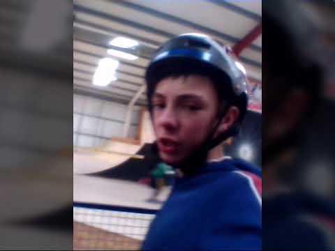 Spooky sesh at Urban extreme indoor skatepark
